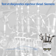 Tests injecteur Siemens