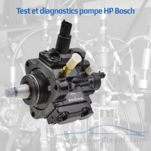 Test pompe à injection HP Bosch